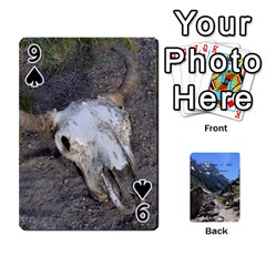 Out West Cards By Terri   Playing Cards 54 Designs   Vrzd1uzgkdos   Www Artscow Com Front - Spade9