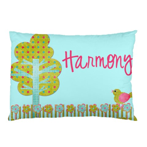Harmony By Mary   Pillow Case   Ifrip1ubz3ko   Www Artscow Com 26.62 x18.9 Pillow Case