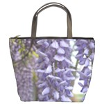 Purple Wisteria - Bucket Bag
