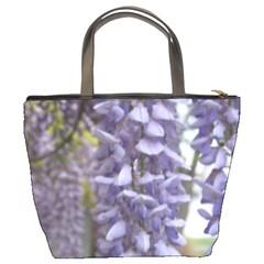 Purple Wisteria By Heatherlyn Kook   Bucket Bag   W4ex41xf7ciz   Www Artscow Com Back