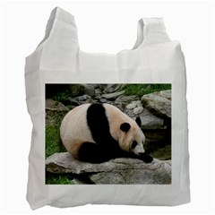 Giant Panda Recycle Bag (one Side)