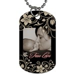 purse tag - Dog Tag (Two Sides)