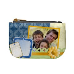 Happy Family By Joely   Mini Coin Purse   G8m4r2qlqnky   Www Artscow Com Front