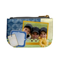 Happy Family By Joely   Mini Coin Purse   G8m4r2qlqnky   Www Artscow Com Back