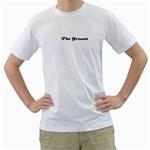 Everett - Men s T-Shirt (White) (Two Sided)