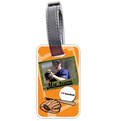 My Boy Tag By Carmensita   Luggage Tag (one Side)   6lk4pmtx0s82   Www Artscow Com Front