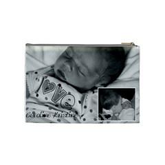 James/caroline By Naomi Thompson   Cosmetic Bag (medium)   S2o8x1u978kn   Www Artscow Com Back