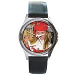 piffy watch - Round Metal Watch