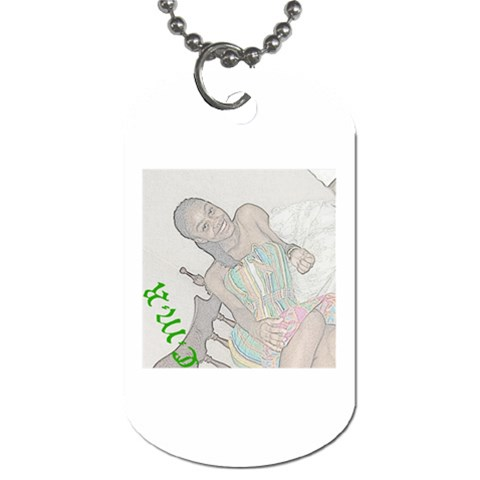 By Kerry Ann Smith   Dog Tag (one Side)   Thownpw8y2ch   Www Artscow Com Front