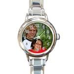 Pam Watch - Round Italian Charm Watch