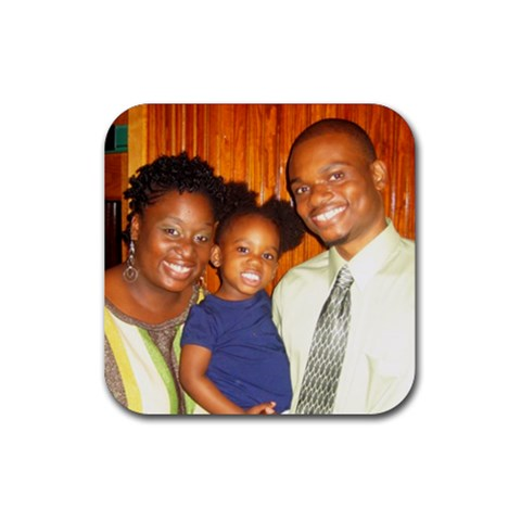 Family Coaster By Danny   Rubber Coaster (square)   Bj2gtvffb9pz   Www Artscow Com Front