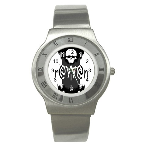 Watch By Rayyan   Stainless Steel Watch   5aae12q3idj6   Www Artscow Com Front
