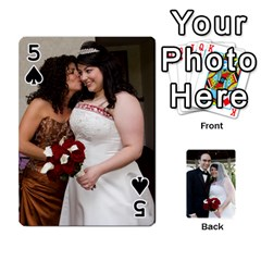 Cards Done By Nancy   Playing Cards 54 Designs   Slhlvyjmmjcp   Www Artscow Com Front - Spade5