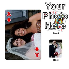 Ace Cards Done By Nancy   Playing Cards 54 Designs   Slhlvyjmmjcp   Www Artscow Com Front - DiamondA