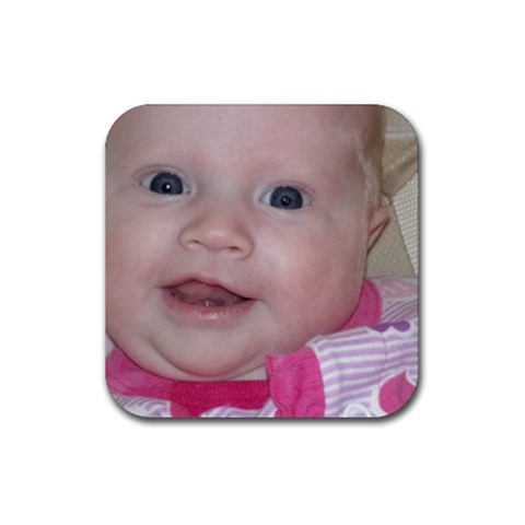 Emy Coasters :) By Gina   Rubber Coaster (square)   4aag7r54hljx   Www Artscow Com Front