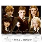 hp - Wall Calendar 11  x 8.5  (12-Months)