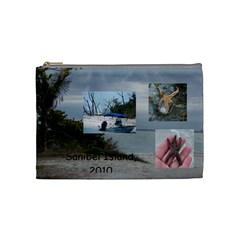 Sanibel Med Cosmetic Bag 1 By Terri   Cosmetic Bag (medium)   M49ieeq52ggg   Www Artscow Com Front
