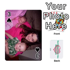 Momomom By Amberle Williams   Playing Cards 54 Designs   1r64z4aa9un2   Www Artscow Com Front - Spade3
