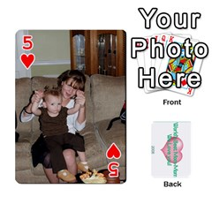Momomom By Amberle Williams   Playing Cards 54 Designs   1r64z4aa9un2   Www Artscow Com Front - Heart5