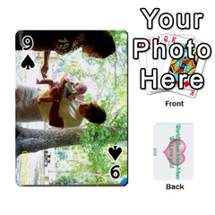 Momomom By Amberle Williams   Playing Cards 54 Designs   1r64z4aa9un2   Www Artscow Com Front - Spade9