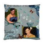 throw pillow case - Standard Cushion Case (Two Sides)