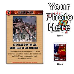 Twilight Struggle 2 By Doom18   Playing Cards 54 Designs   0g49j2vgz1xd   Www Artscow Com Front - Diamond9