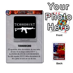 King Twilight Struggle 2 By Doom18   Playing Cards 54 Designs   0g49j2vgz1xd   Www Artscow Com Front - DiamondK