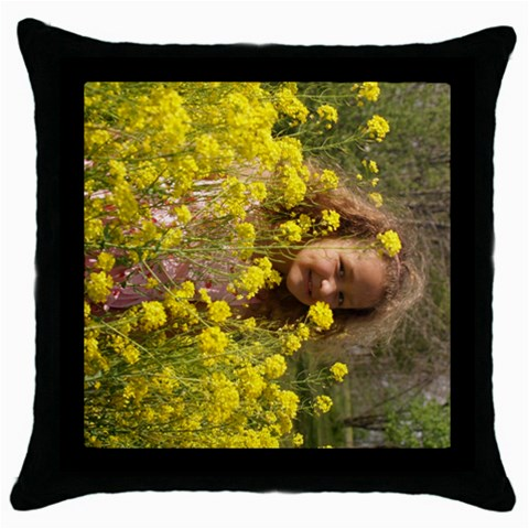 By Kim   Throw Pillow Case (black)   C1cpdnt7zbai   Www Artscow Com Front