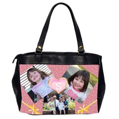 Girls Bag By Candy Smith   Oversize Office Handbag (2 Sides)   Cqeee1nmlm6f   Www Artscow Com Back