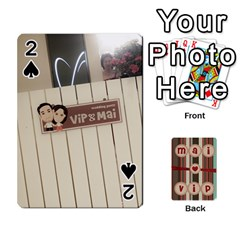 Playcard By Vipavee Ningsanond   Playing Cards 54 Designs   C99f5riwpv9h   Www Artscow Com Front - Spade2