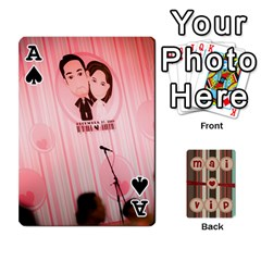 Ace Playcard By Vipavee Ningsanond   Playing Cards 54 Designs   C99f5riwpv9h   Www Artscow Com Front - SpadeA