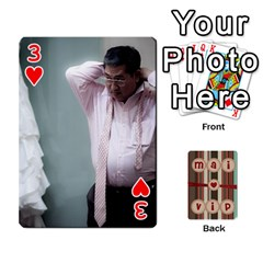 Playcard By Vipavee Ningsanond   Playing Cards 54 Designs   C99f5riwpv9h   Www Artscow Com Front - Heart3