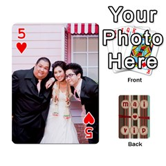 Playcard By Vipavee Ningsanond   Playing Cards 54 Designs   C99f5riwpv9h   Www Artscow Com Front - Heart5