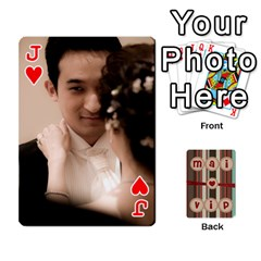 Jack Playcard By Vipavee Ningsanond   Playing Cards 54 Designs   C99f5riwpv9h   Www Artscow Com Front - HeartJ