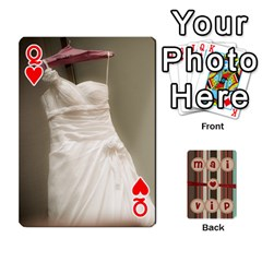 Queen Playcard By Vipavee Ningsanond   Playing Cards 54 Designs   C99f5riwpv9h   Www Artscow Com Front - HeartQ