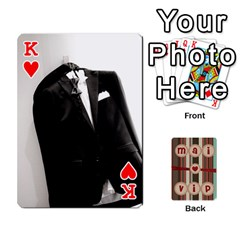 King Playcard By Vipavee Ningsanond   Playing Cards 54 Designs   C99f5riwpv9h   Www Artscow Com Front - HeartK