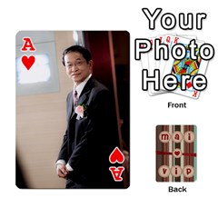Ace Playcard By Vipavee Ningsanond   Playing Cards 54 Designs   C99f5riwpv9h   Www Artscow Com Front - HeartA