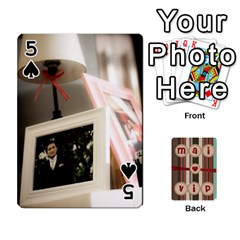 Playcard By Vipavee Ningsanond   Playing Cards 54 Designs   C99f5riwpv9h   Www Artscow Com Front - Spade5