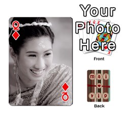 Queen Playcard By Vipavee Ningsanond   Playing Cards 54 Designs   C99f5riwpv9h   Www Artscow Com Front - DiamondQ
