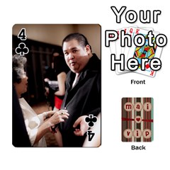 Playcard By Vipavee Ningsanond   Playing Cards 54 Designs   C99f5riwpv9h   Www Artscow Com Front - Club4