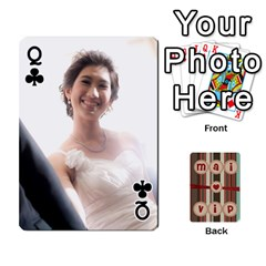 Queen Playcard By Vipavee Ningsanond   Playing Cards 54 Designs   C99f5riwpv9h   Www Artscow Com Front - ClubQ