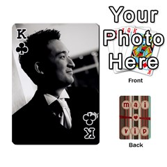 King Playcard By Vipavee Ningsanond   Playing Cards 54 Designs   C99f5riwpv9h   Www Artscow Com Front - ClubK