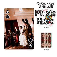 Ace Playcard By Vipavee Ningsanond   Playing Cards 54 Designs   C99f5riwpv9h   Www Artscow Com Front - ClubA