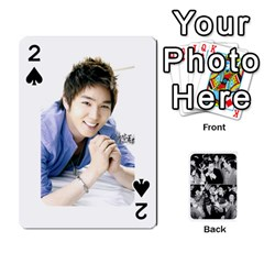 Suju Playing Cards By Mia Story   Playing Cards 54 Designs   Yap4e21nkrir   Www Artscow Com Front - Spade2