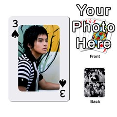 Suju Playing Cards By Mia Story   Playing Cards 54 Designs   Yap4e21nkrir   Www Artscow Com Front - Spade3