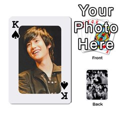 King Suju Playing Cards By Mia Story   Playing Cards 54 Designs   Yap4e21nkrir   Www Artscow Com Front - SpadeK