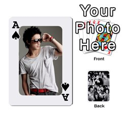 Ace Suju Playing Cards By Mia Story   Playing Cards 54 Designs   Yap4e21nkrir   Www Artscow Com Front - SpadeA