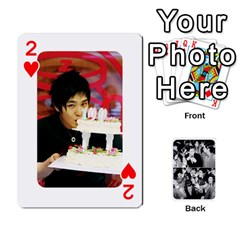 Suju Playing Cards By Mia Story   Playing Cards 54 Designs   Yap4e21nkrir   Www Artscow Com Front - Heart2