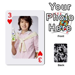 Suju Playing Cards By Mia Story   Playing Cards 54 Designs   Yap4e21nkrir   Www Artscow Com Front - Heart3