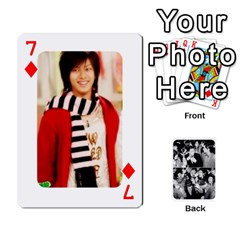 Suju Playing Cards By Mia Story   Playing Cards 54 Designs   Yap4e21nkrir   Www Artscow Com Front - Diamond7
